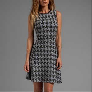 Theory Houndstooth Dress
